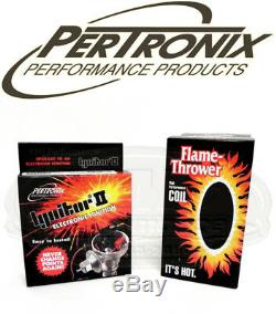 Pertronix 91381A Ignitor II Module & Coil Dodge Plymouth Mopar V8 Distributor