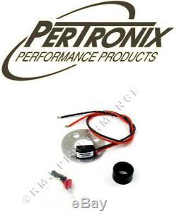 Pertronix 1122p12 Ignitor Module D'allumage Delco 2 Cyl 12 Volts Positif Au Sol