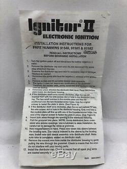 Pertronix 91581 Ignitor II Module D'allumage 8cyl Prestolite Bateau Omc Chriscraft