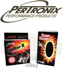 Pertronix 9lu-281 Ignitor II Module Et Bobine Pour Lucas V8 35de8 Points Distributeur