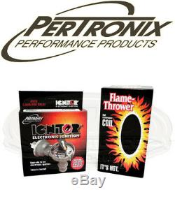 Pertronix Ignitor Module D'allumage Et La Bobine Pour Ihc Ih Holley V8 Points Distributeur